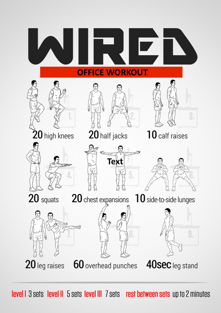 WIRED OFFICE WORKOUT
